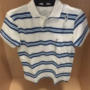 Brand New Kids Striped Polo Shirt!